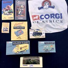 CORGI BOXED TOY CARS 4 Diecast VEHICLE Golden Oldies RARE Leaflet BAG Bundle LOT