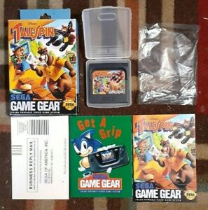 Disney's TaleSpin Complete (Sega Game Gear, 1993) VG Shape & Tested
