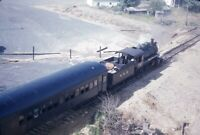 B&H BATH & HAMMONDSPORT Railroad Steam Locomotive Original 1955 Photo Slide