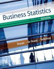Business Statistics by Paul F. Velleman, Norean D. Sharpe and Richard D. De Vea…