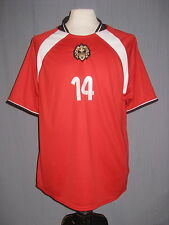 New Adult Large Mendez #14 Red Puma Soccer Jersey ( L World Cup Copa de Mundo )
