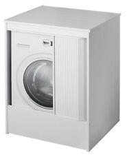 Armadio mobile lavatrice coprilavatrice rinforzato interno esterno a serrandina