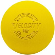 Velocity Lacrosse Yellow Textured Balls Sei Certified Nocsae/Nfhs/Ncaa
