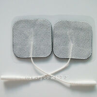 20 pairs/pack electrode pads conductive patch Hole 2.0mm For TENS Machine 5*5cm