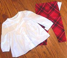 POLO RALPH LAUREN BABY GIRLS BRAND NEW ORIGINAL 2Pc DRESS SET SUIT Size 12M, NWT