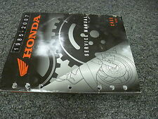 2005 2006 2007 Honda Model CH80 Elite Scooter Shop Service Repair Manual Book