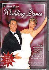 D6 Learn Your Wedding Dance Rumba, Waltz & Slow DVD + Bonus Wedding Music CD