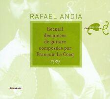 FRAN‡OIS LE COCQ: RECUEIL DES PIECES DE GUITARE NEW CD