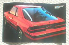1982 Mercury LN7 LN-7 Brochure / Catalog / Pamphlet with Color Chart