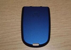 New Genuine Original Motorola V550 V525 V300 V400 Blue Battery Cover Fascia