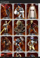 Topps Star Wars Card Trader Random Mixed Lot 16 Orange Cards Including Expansion