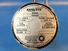 USED Computer Devices Rapid Syn. 34H-600 Stepper Motor