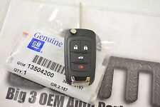 2014 Chevrolet Malibu Remote Flip Keyless Entry Uncut Transmitter Key FOB new OE