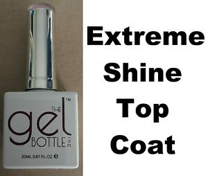 NEW The Gel Bottle Inc TGB Extreme Shine Top Coat Builder Gel UV LED Polish 20ml