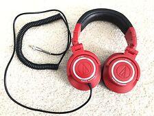 "Audio-Technica ATH-M50""Headphones - **EXCLUSIVE RED**"