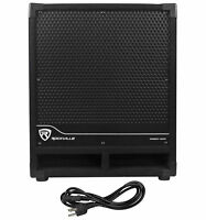 "Rockville RBG12S Bass Gig 12"" 1400 Watt Active Powered PA Subwoofer DJ/Pro"