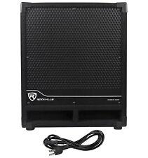 """Rockville RBG12S Bass Gig 12"""" 1400 Watt Active Powered PA Subwoofer DJ/Pro"""