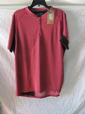 Canari Bernies Cycling/Biking Jersey Shirt-Pocket-Rio Red -Men's Large -NWT