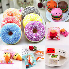 Lot Jumbo Relax  Soft Slow Rising Food Squeeze Toy Pressure Relief Kids Toys