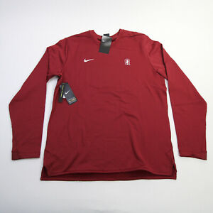 Stanford Cardinal Nike  Long Sleeve Shirt Men's Red New with Tags