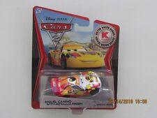Disney Pixar 2012 KMART Cars 2 MIGUEL CAMINO METALLIC FINISH SILVER RACER CB-BB