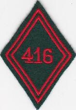 Losange mle 1945 :   416eme  BS couleurs du Train