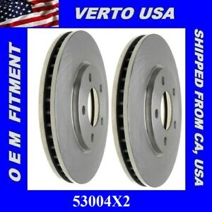 Front Brake Rotors For Chrysler Town & Country, Voyager  Dodge Caravan