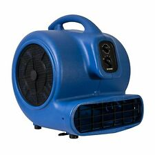 XPOWER X-800TF 3/4 HP Air Mover Carpet Floor Fan Cage Dryer w/ Timer, Filter Kit