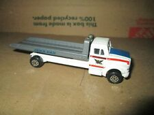 1995 road champs tow truck wrecker rollback 1/64  RARE loose  INTERNATIONAL 4400