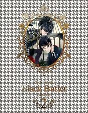 Used Toboso Yana Art Book Kuroshitsuji Black Butler 2 Japanese Book W/O Obi