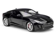 More details for jaguar f type coupe black welly 1:24 scale diecast model car 2015 24060 v6