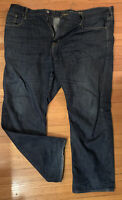 MENS AMERICAN EAGLE RELAXED FIT STRAIGHT LEG JEANS sz 44x32 100% cotton denim #1