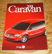 Original 2001 Dodge Caravan Deluxe Sales Brochure 01