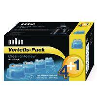 Braun CCR4+1 Clean&Renew - 5 Reinigungskartuschen Vorteils-Pack CCR2 + CCR3