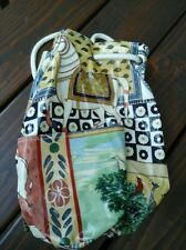 BEAUTIFUL JANE CHURCHILL LIMITED  BAG BACKPACK STYLE GREAT PATTERN,  GREAT COND