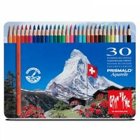 Caran D'Ache Prismalo Aquarelle Watercolour Pencils 30 Tin Set