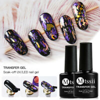 MTSSII 7ml Nail Foil Decal Transfer Star Glue Strong Adhesive Gel Manicure Tool