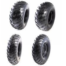 "Set of 4 Sport UTV ATV Tires & Rims AT 23x7-10 Front & 22x10-10 Rear Wheels 10"""