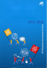 Portugal 2018 CTO 49th Physics Olympiad IPhO 2v Special Folder Science Stamps