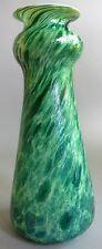 """Superb 14.5"""" KRALIK ART NOUVEAU Iridized Glass Vase  c. 1910   antique Bohemian"""