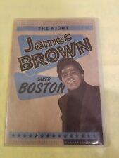 Night James Brown Saved Boston (DVD, 2009)