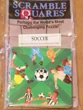 B Dazzle Soccer Scramble Squares 9 Piece Puzzle  NEW