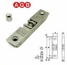 Scrocco porta chiusura temporanea AGB cod.A400170118 Aria 4 per infissi legno