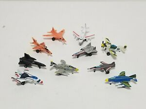 Lot of 10 Vintage Galoob Micro Machines Military Aircraft Jet Fighter Plane CCCP