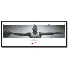 Michael Jordan Wings Super Basketball Star Art Silk Poster 13x36 inch