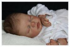 NOAH ASLEEP DOLL KIT BLANK VINYL PARTS TO MAKE A REBORN BABY-NOT COMPLETED