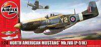 Airfix 1:24 North American P-51K/RF Mustang Plastic Model Kit 14003A
