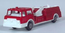 """Vintage 1970 Mack Tootsietoy Fire Engine Aerial Ladder Truck 7"""" Scale Model"""