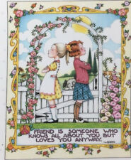 Mary Engelbreit Handmade Magnet-A Friend Is Someone Who Knows All About You