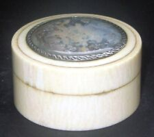 BOITE PEINTURE MINIATURE XVIII ANTIQUE FRENCH PATCH SNUFF BOX PAINTING